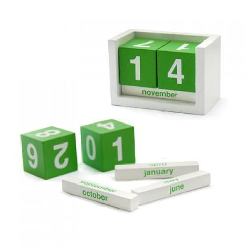 Wooden Desk Calendar | Executive Corporate Gifts Singapore