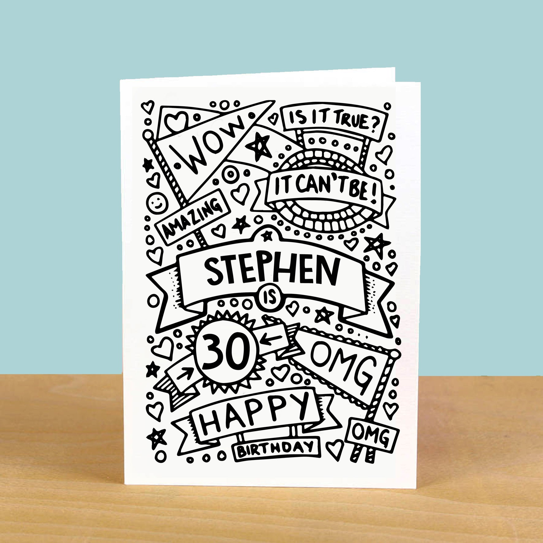 Personalised Birthday Card Design 269909