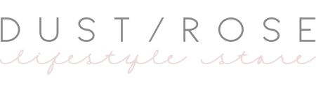 Logo DUST/ROSE lifestyle store