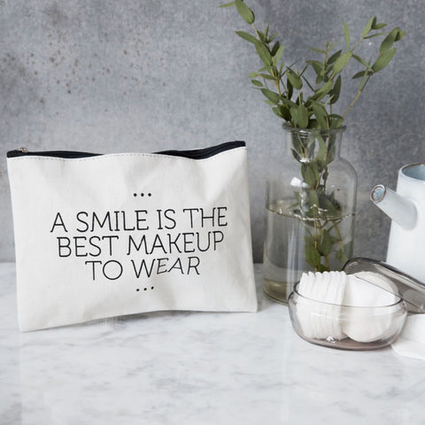 Make-up bag Smile