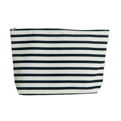 House Doctor Make-up bag trousse Stripe