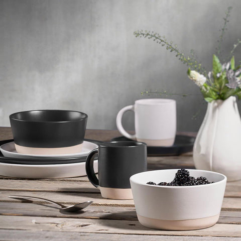 Tazza in Gres Bicolor