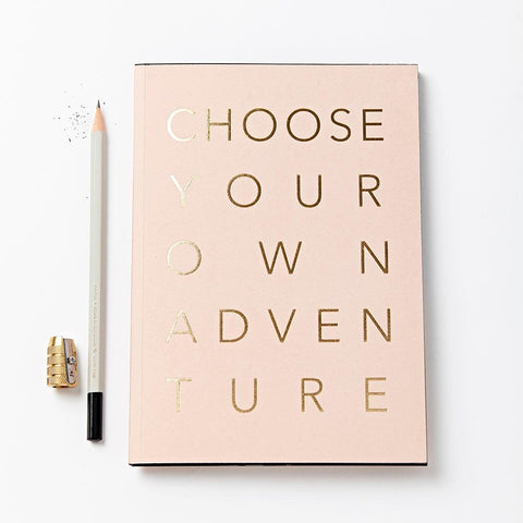Quaderno Katie Leamon Choose your own adventure rosa