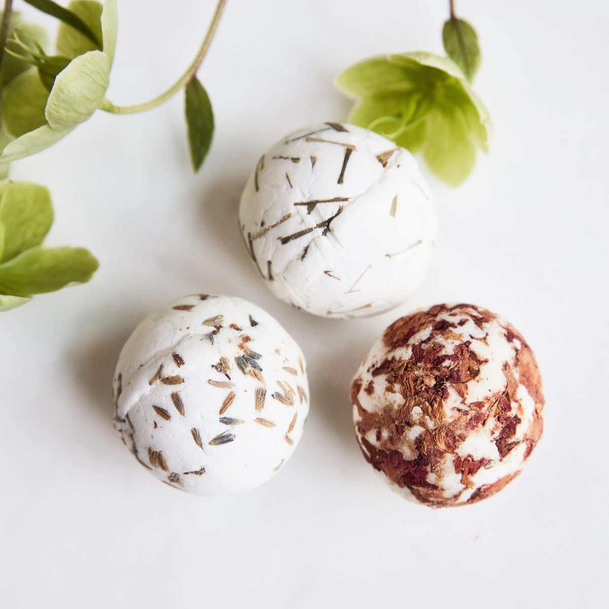 Meraki bath bombs