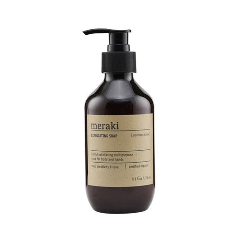 Meraki gel doccia esfoliante Northern Dawn