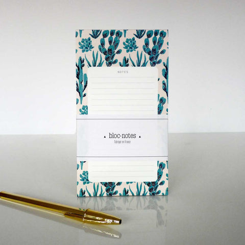 Bloc notes Season Paper Cactus