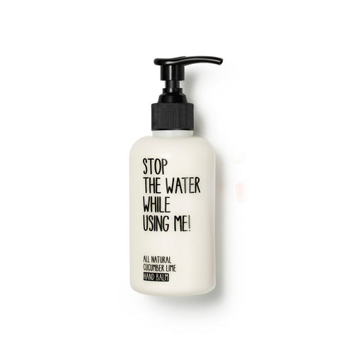 Stop The Water While Using Me crema mani al cetriolo e lime