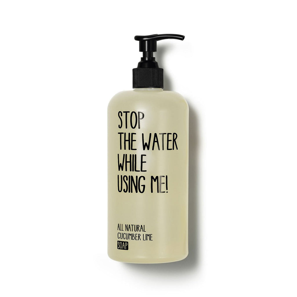 Stop The Water While Using Me Sapone liquido al cetriolo e lime