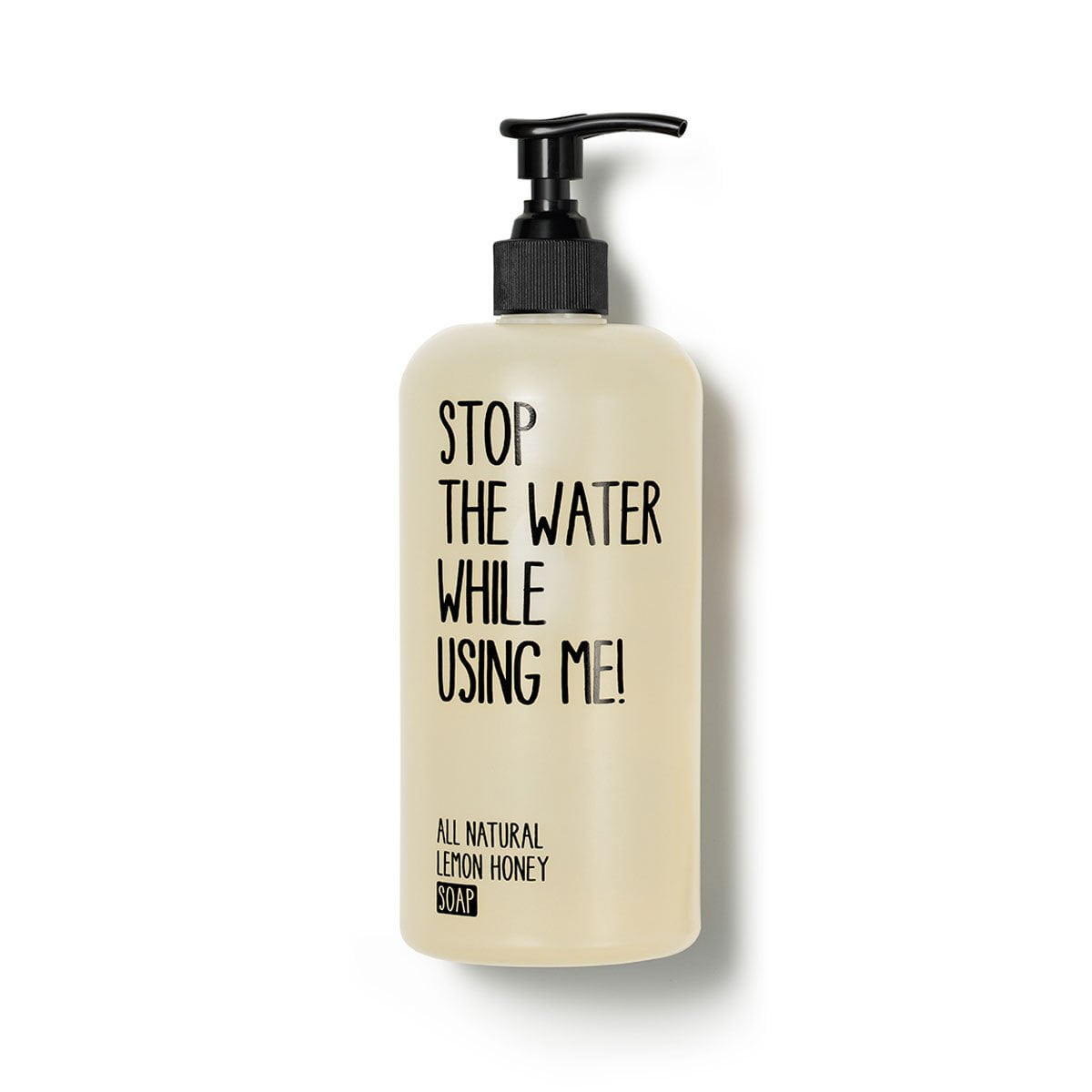 Stop The Water While Using Me Sapone mani al limone e miele