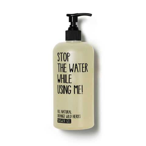 Stop The Water While Using Me gel doccia all'arancio e erbe selvatiche