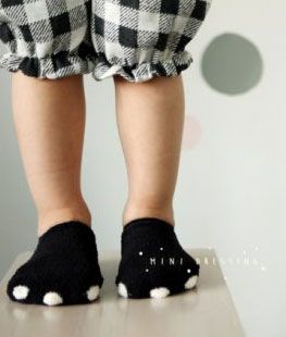 Mini Dressing - Bear Ankle Socks