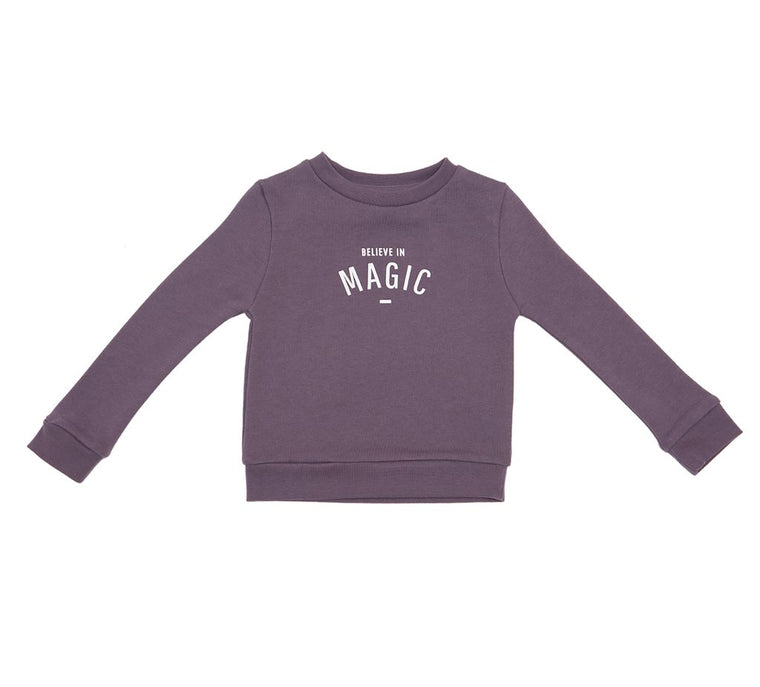 Bob & Blossom - Magic Sweatshirt Plum