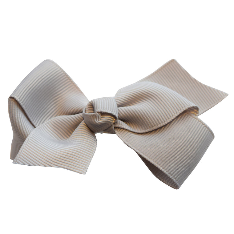 Petit by V - Hair Bow Grey