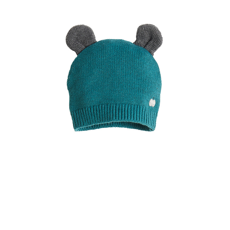 Baby Hat with Ears Teal
