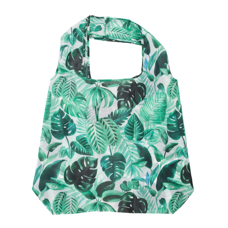 Jungle Print Folding Shopping Bag