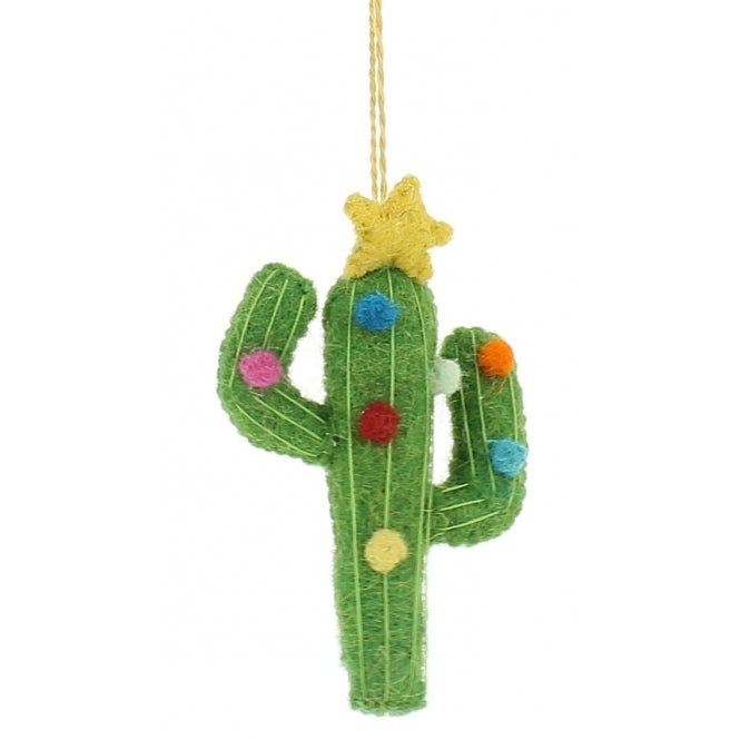 Fiona Walker England - Cactus Christmas Tree Decoration.