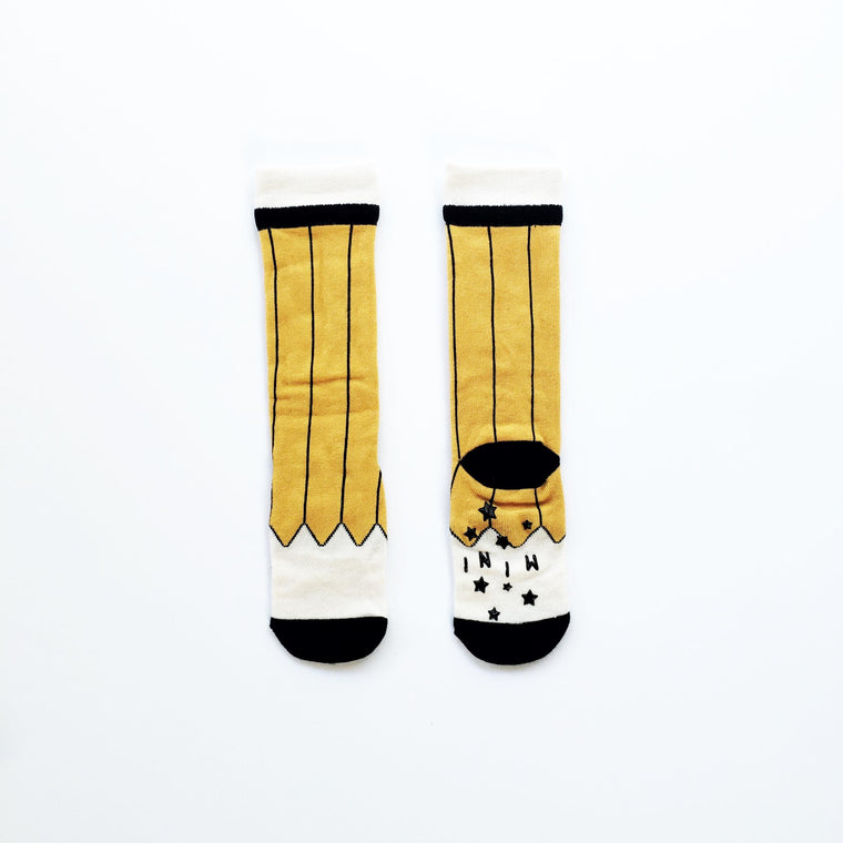 Mini Dressing - Yellow Pencil Socks