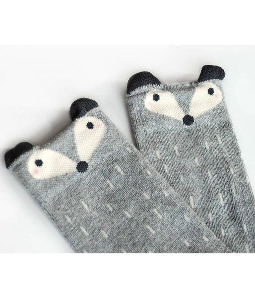 mini dressing fox socks