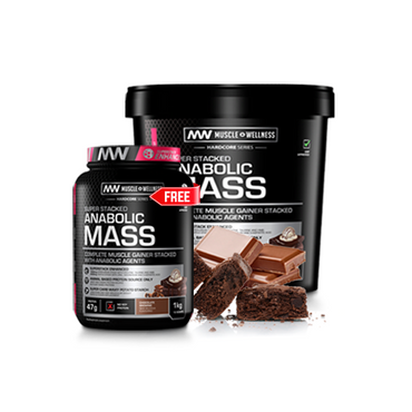 BUY SUPERSTACKED ANABOLIC MASS 5kg AND GET A 1kg FREE