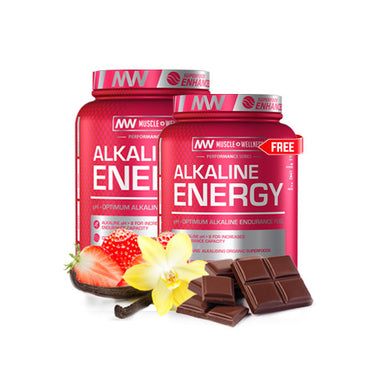 ALKALINE ENERGY BUY ONE GET ONE FREE