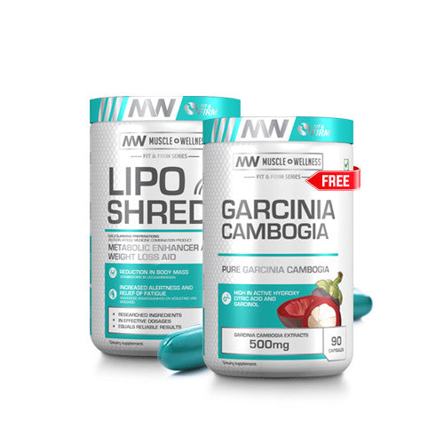 BUY LIPO SHRED XT AND GET A FREE GARCINIA CAMBOGIA 90 CAPSULES