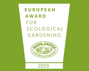 European Award for Ecological Gardening 2019 von Natur im Garten