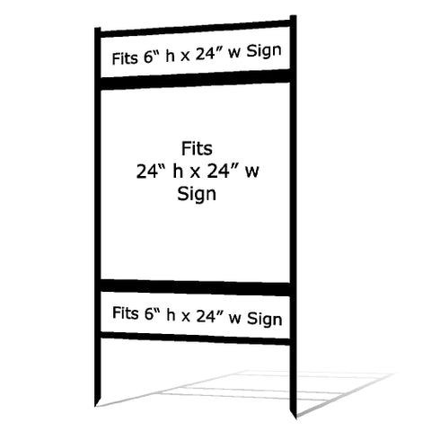 "24"" x 24"" Real Estate Sign Frame"