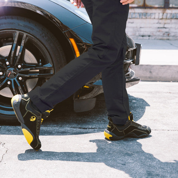 corvette racing driving shoe