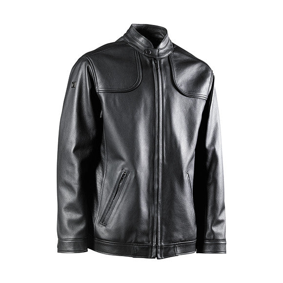 FLORENCE LEATHER JACKET - BLACK
