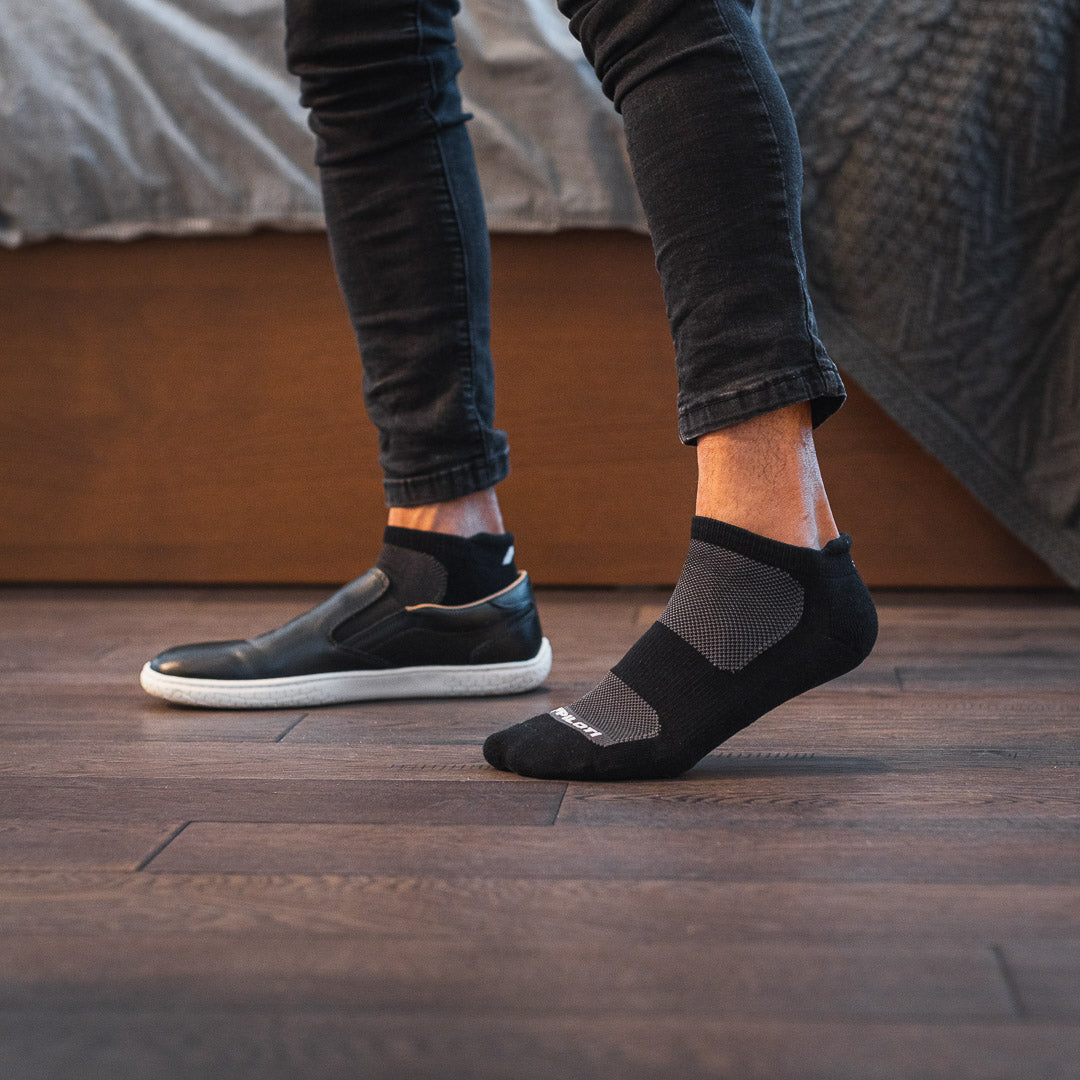 Men's Socks 4 Pack - Black