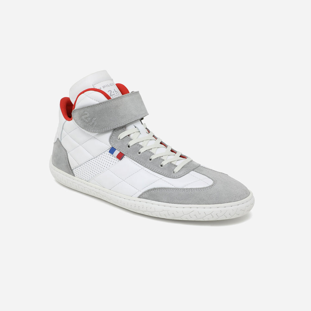 SAINT HONORE HI-TOPS - 24H LE MANS - WHITE-GREY-BLUE-RED