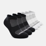 Men's Socks 6 Pack - Black and White