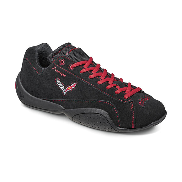 Corvette Limited Edition Driving Shoes - Black Red