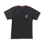 PIT CREW T SHIRT - BLACK