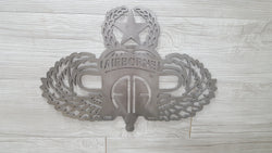 82nd Airborne with Master Parachutist Badge