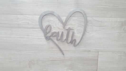 Heart with Faith