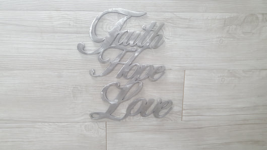 Faith, Hope, Love Connected