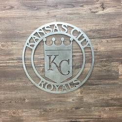 Kansas City Royals Metal Art
