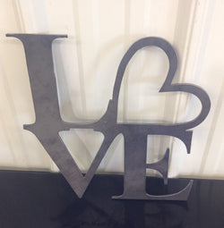 Love With Heart Sign