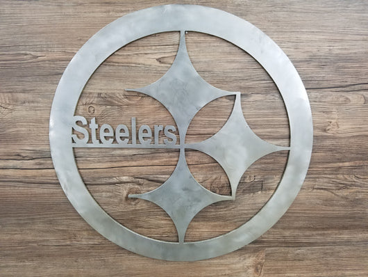Pittsburg Steelers Circle With Logo
