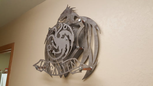 HOUSE TARGARYEN Coat of Arms from the Game of Thrones series