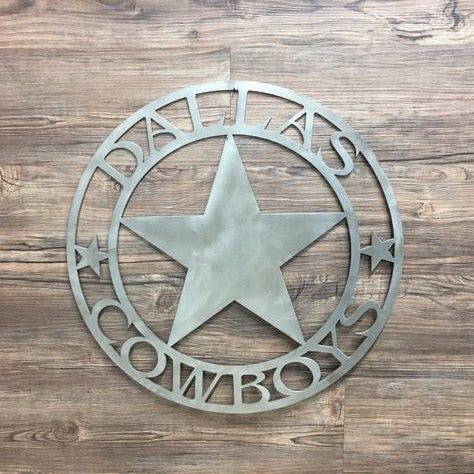 Dallas Cowboys Circle With Star logo