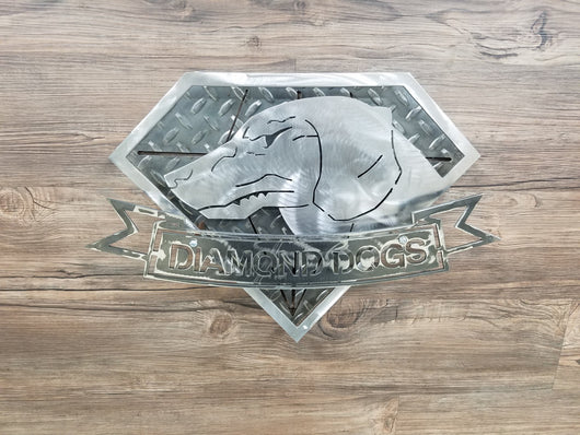 Diamond Dogs Logo from Metal Gear Solid 3D