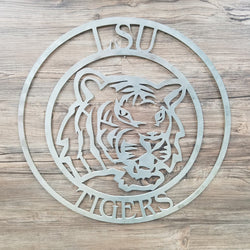 LSU Tiger Circle With Logo