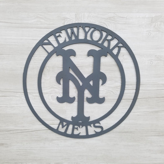 New York Mets Circle with NY Logo