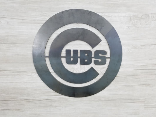 Chicago Cubs Circle With Logo