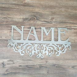 Address or Mailbox Name With Design