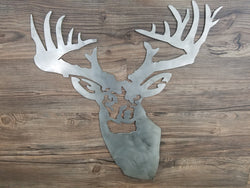 Deer Head Trophy Hunter
