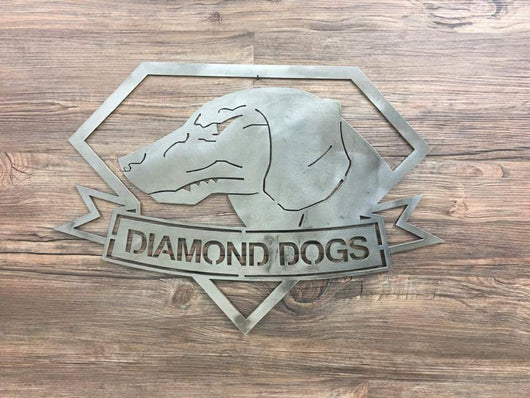 Diamond Dogs Logo from Metal Gear Solid