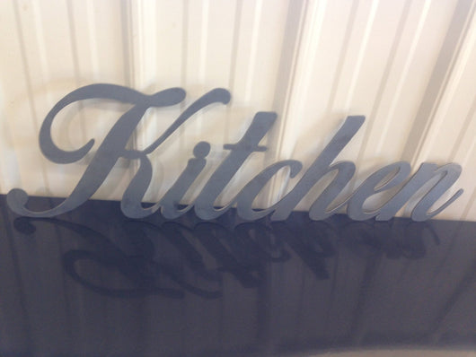 Kitchen Sign (Home Decor, Wall Art, Metal Art)